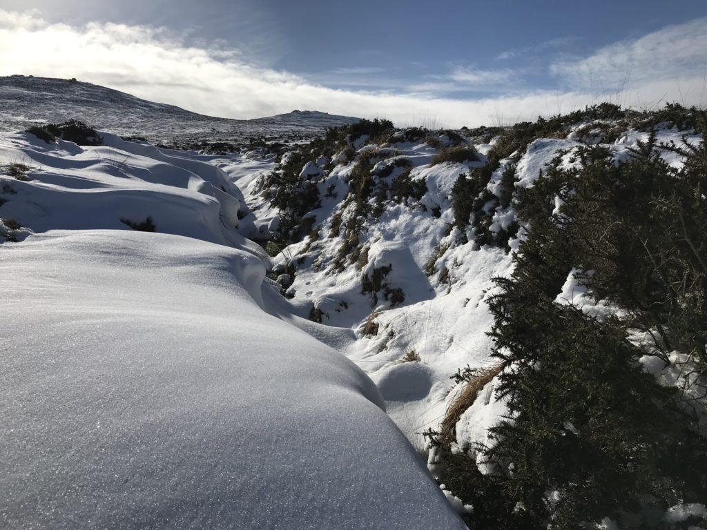 Meter sneeuw